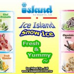 Yummy Snow Ice from Ice Island